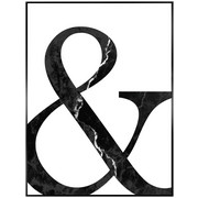 BILD - Schwarz/Weiß, KONVENTIONELL, Holzwerkstoff (40/30/2cm) - Reinders Next