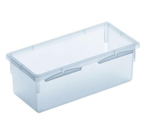 Kutija za odlaganje - prozirno, Basics, plastika (15/8/5cm) - Homeware