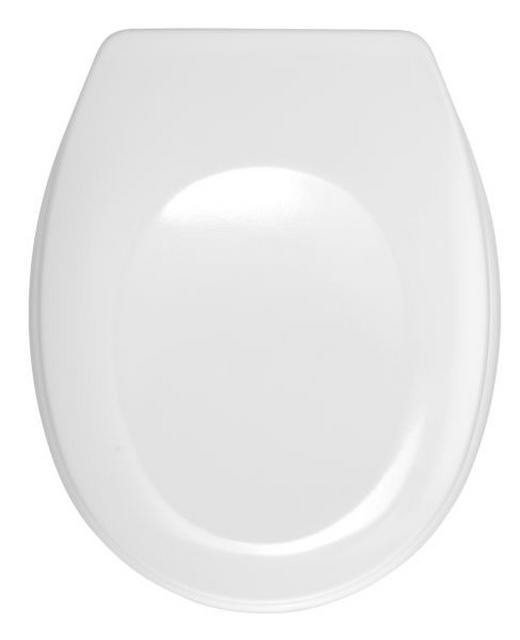 WC-SITZ Weiß - Weiß, Basics, Kunststoff (35/44,5cm)