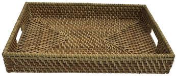 SERVIERTABLETT    - Naturfarben, Basics, Holz (46/7/35,5cm) - Landscape