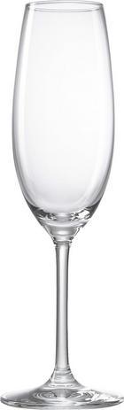 SEKTGLAS 228 ml - Klar, Basics, Glas (23/16,2/23,2cm) - NOVEL
