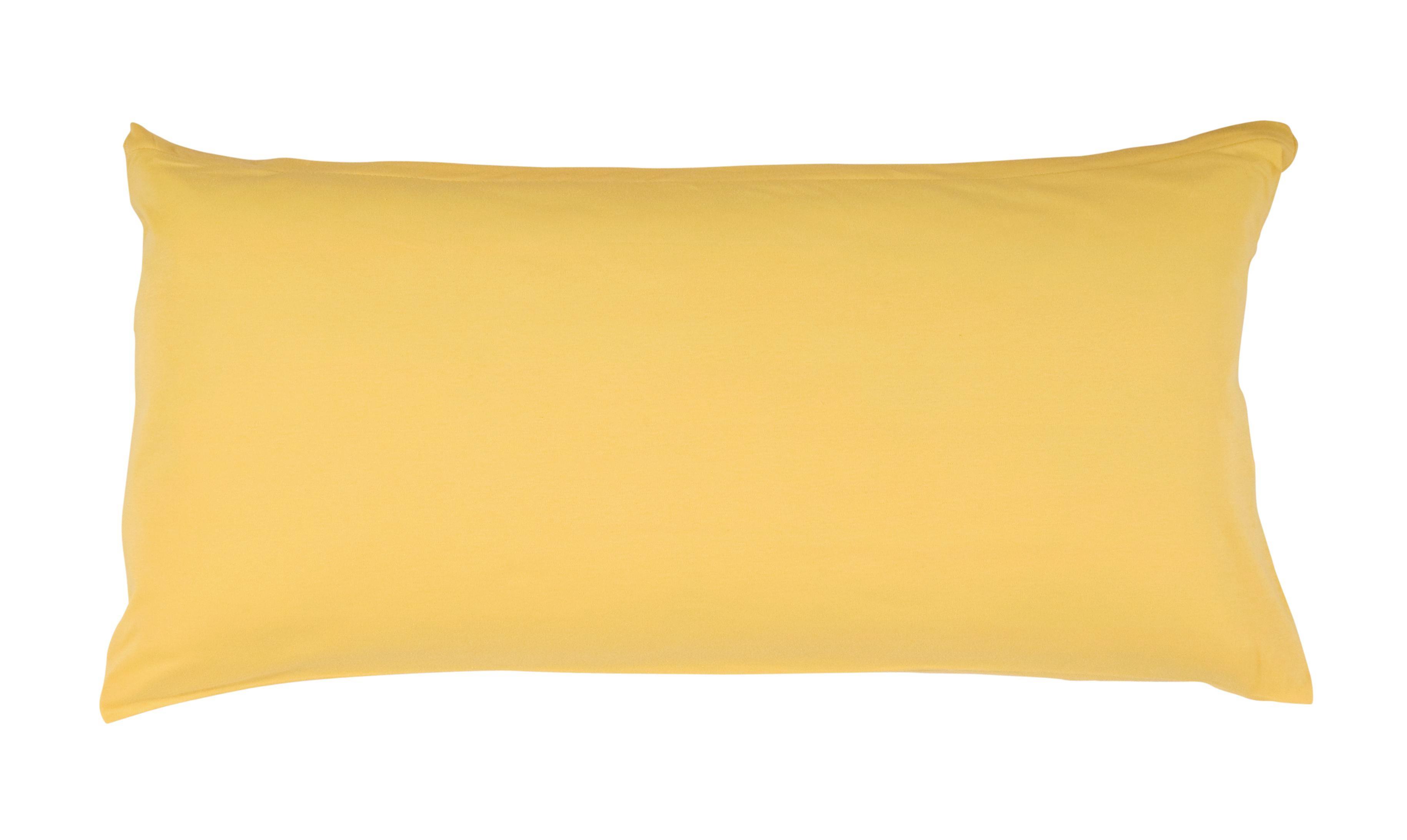 KOPFKISSENBEZUG  40/80 cm - Gelb, Textil (40/80cm) - SCHLAFGUT