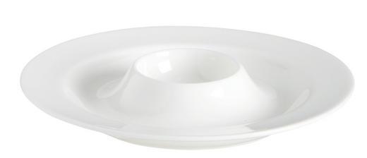 EIERBECHER Keramik Fine Bone China - Weiß, Basics, Keramik (13cm) - ASA