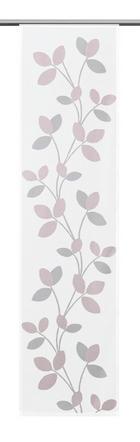 PANEL ZAVJESA - svijetlo ružičasta, Konvencionalno, tekstil (60/245cm)