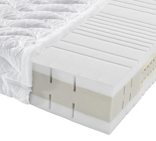 KALTSCHAUMMATRATZE 90/190 cm - Weiß, Basics, Textil (90/190cm) - Novel