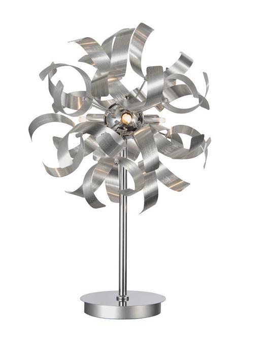 LED-TISCHLEUCHTE - Alufarben, LIFESTYLE, Metall (30/52cm) - Ambiente