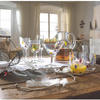 GLASKRUG  2 L - Klar/Multicolor, Basics, Glas (25cm) - Leonardo