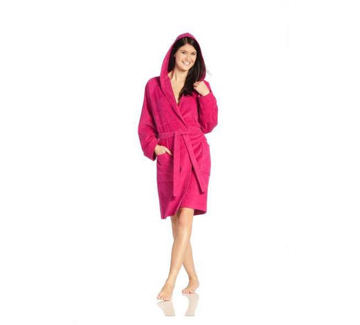 BADEMANTEL XL  - Pink, Basics, Textil (XLnull) - Vossen