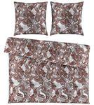 BETTWÄSCHE Satin Rot 200/200 cm  - Rot, KONVENTIONELL, Textil (200/200cm) - Ambiente