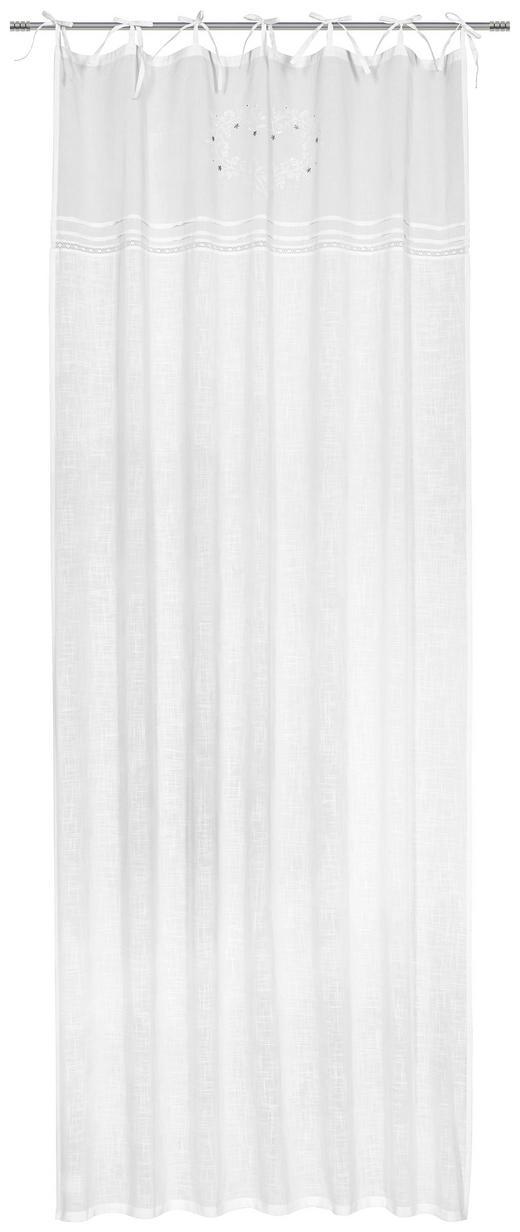 FERTIGVORHANG  blickdicht  140/255 cm - Weiß, Natur, Textil (140/255cm) - Landscape