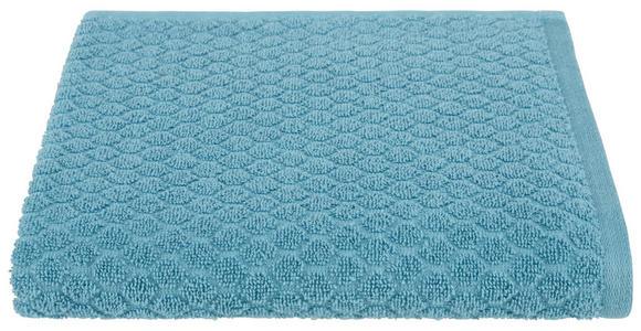 Duschtuch Elena - Petrol, MODERN, Textil (70/140cm) - Luca Bessoni