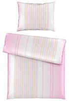 POSTELJINA - roza/bijela, Design, tekstil (140/200cm) - Esposa