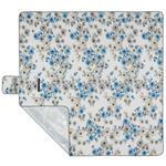 PICKNICKDECKE 200/200 cm  - Blau, KONVENTIONELL, Textil (200/200cm) - Esposa