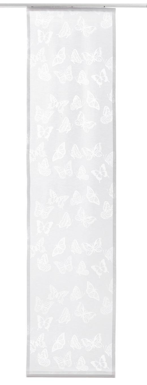 FLÄCHENVORHANG     60/245 cm - Weiß, Basics, Textil (60/245cm) - Novel
