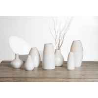 VASE 19 cm - Beige/Weiß, Design, Keramik (10/10/19cm) - Ritzenhoff Breker
