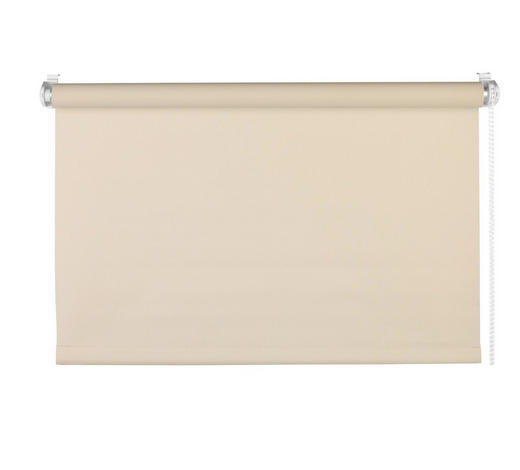 ROLLO  blickdicht   75/160 cm   - Sandfarben, Basics, Textil (75/160cm)