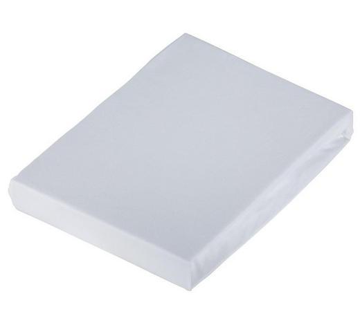 Bettlaken 150/250 cm - Weiß, Basics, Textil (150/250cm) - Schlafgut