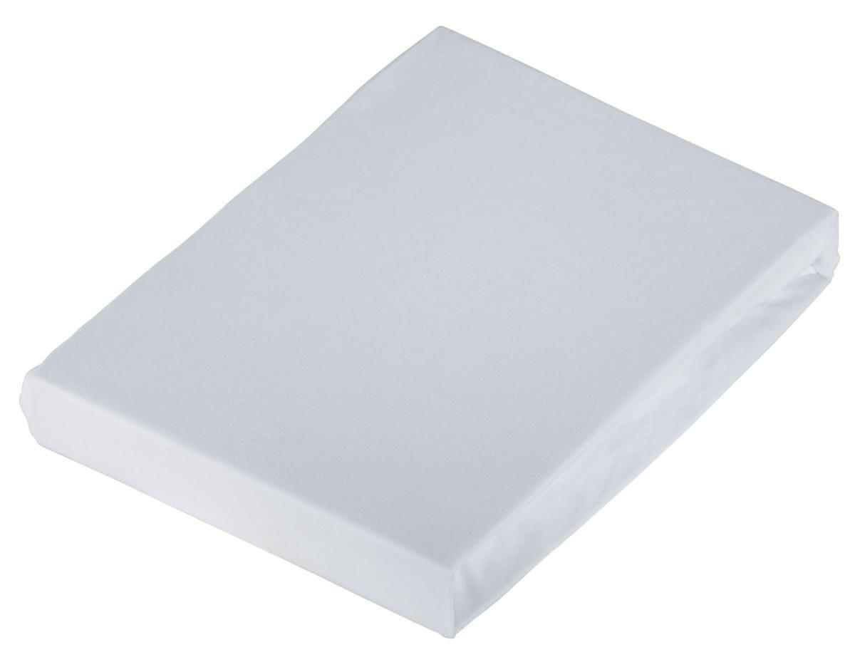 Levně Novel PROSTĚRADLO NAPÍNACÍ, žerzej, bílá, 180/200 cm - bílá