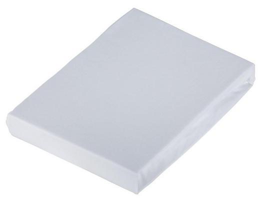 SPANNBETTTUCH Jersey Weiß bügelfrei - Weiß, Basics, Textil (150/200cm) - Novel