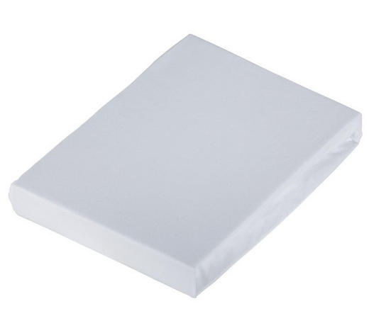 SPANNLEINTUCH 100/200 cm - Weiß, Basics, Textil (100/200cm) - Schlafgut