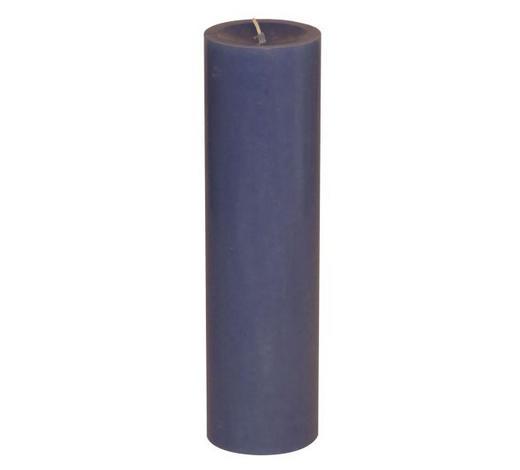 STUMPENKERZE 6,8/20 cm - Blau, Basics (6,8/20cm) - Steinhart