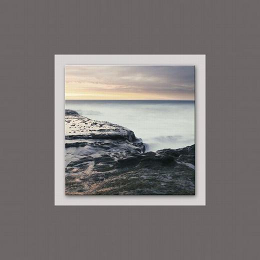 Landschaft & Natur ALUMINIUMBILD - Multicolor, Basics, Glas/Metall (50/50/3cm) - Eurographics