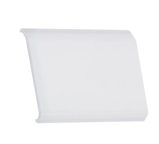 LED-DEKOLEUCHTE - Transparent/Alufarben, Basics, Kunststoff (3,5/2,9/0,5cm)
