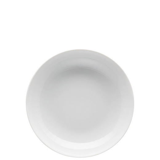 SUPPENTELLER Porzellan - Weiß, Basics, Keramik (23cm)