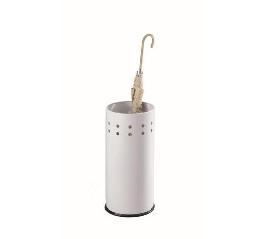 SCHIRMSTÄNDER Metall Weiß  - Weiß, Design, Metall (23,5/50cm) - Carryhome