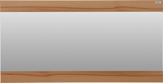SPIEGEL Strukturbuche Buchefarben - Buchefarben, Design, Glas/Holz (118/60/3cm) - Dieter Knoll