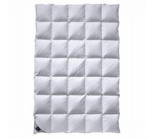 GANZJAHRESBETT  155/220 cm   - Weiß, Basics, Textil (155/220cm) - Billerbeck