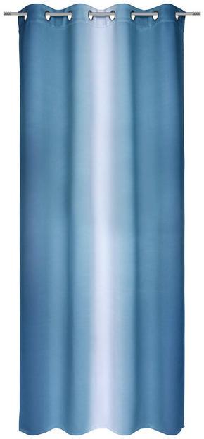 ÖLJETTLÄNGD - blå, Klassisk, textil (135/245cm) - Esposa
