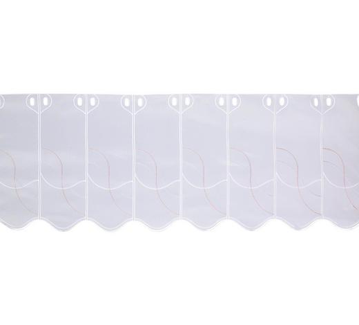 KURZGARDINE 60 cm - Rosa/Weiß, KONVENTIONELL, Textil (60cm) - Esposa