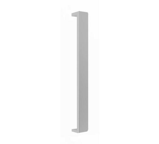 GRIFF - Edelstahlfarben, MODERN, Metall (20/2,4/1,7cm) - Hom`in