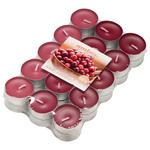 TEELICHT 30 Stück  - Pink/Beere, Basics, Metall (3,8/3,2cm) - Ambia Home