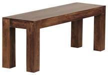 SITZBANK 120/45/35 cm  in Sheeshamfarben  - Sheeshamfarben, MODERN, Holz (120/45/35cm) - Carryhome