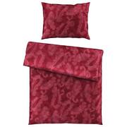 BETTWÄSCHE 140/200 cm - Aubergine, KONVENTIONELL, Textil (140/200cm) - Estella