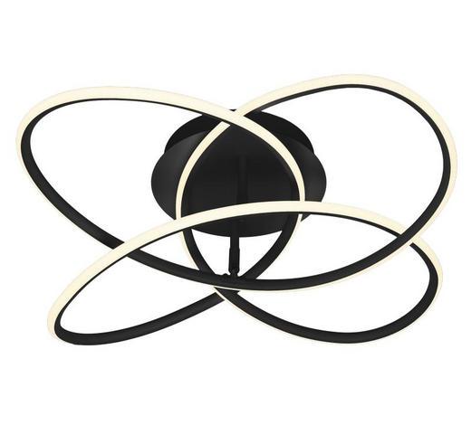 SVÍTIDLO STROPNÍ - bílá/černá, Design, umělá hmota (60/18cm)