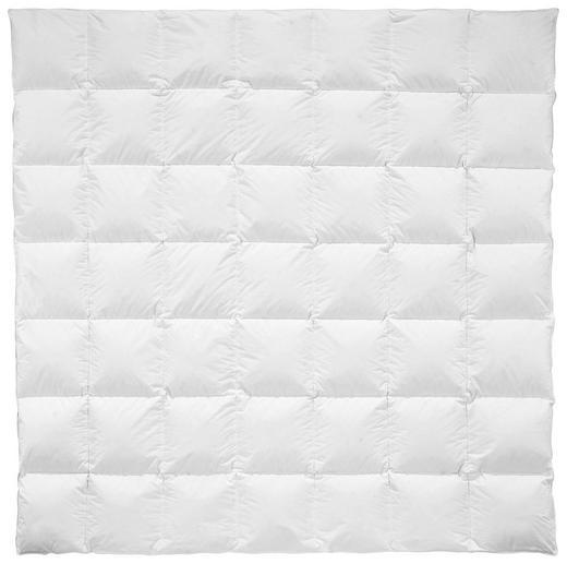 DAUNENDECKE 200/200 cm - Weiß, Natur, Textil (200/200cm) - Billerbeck