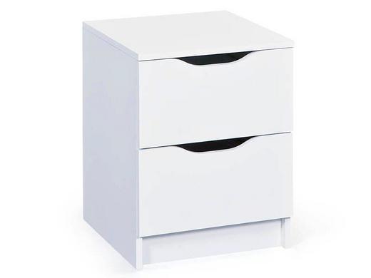 KOMMODE Weiß - Weiß, LIFESTYLE (40/50/40cm) - Carryhome