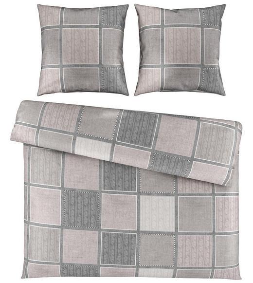 BETTWÄSCHE Satin Beige 200/200 cm - Beige, Design, Textil (200/200cm) - Novel