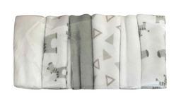 Waschtuchset 6-teilig   - Grau, Basics, Textil (22/22cm) - My Baby Lou
