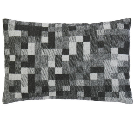 ZIERKISSEN 40/60 cm - Anthrazit/Weiß, Design, Textil (40/60cm) - David Fussenegger