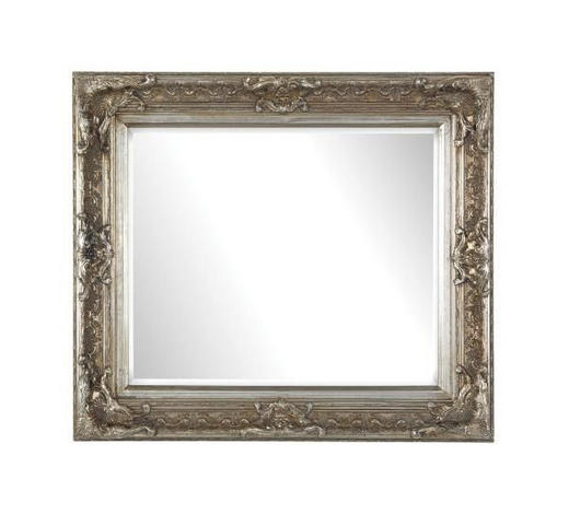 ZRCADLO, 80/70/6 cm,  - barvy stříbra, Lifestyle, dřevo/sklo (80/70/6cm) - Landscape