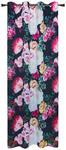 Ösenvorhang Gulietta - Schwarz, ROMANTIK / LANDHAUS, Textil (140/245cm) - James Wood