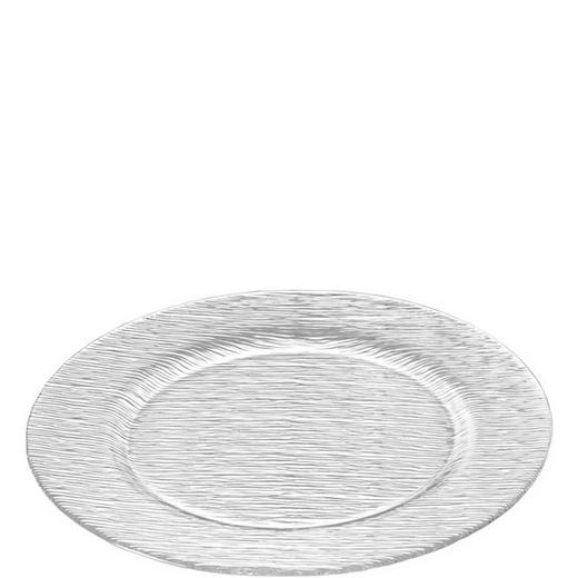 PLATZTELLER Glas - Klar, Basics, Glas (32cm) - LEONARDO
