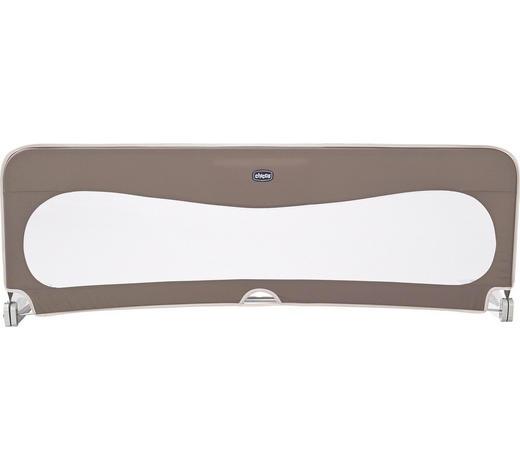 BETTSCHUTZGITTER 135/45 cm - Naturfarben/Braun, Basics, Textil/Metall (135/45cm) - Chicco