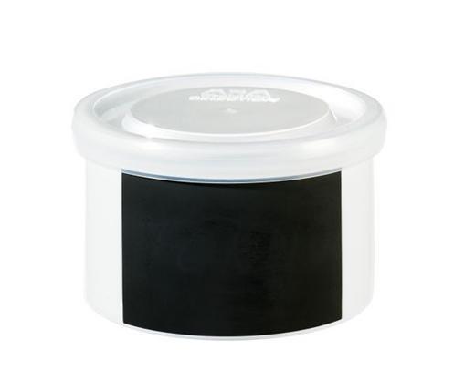 VORRATSDOSE - Weiß, Basics, Keramik/Kunststoff (9.5/6.0cm) - ASA