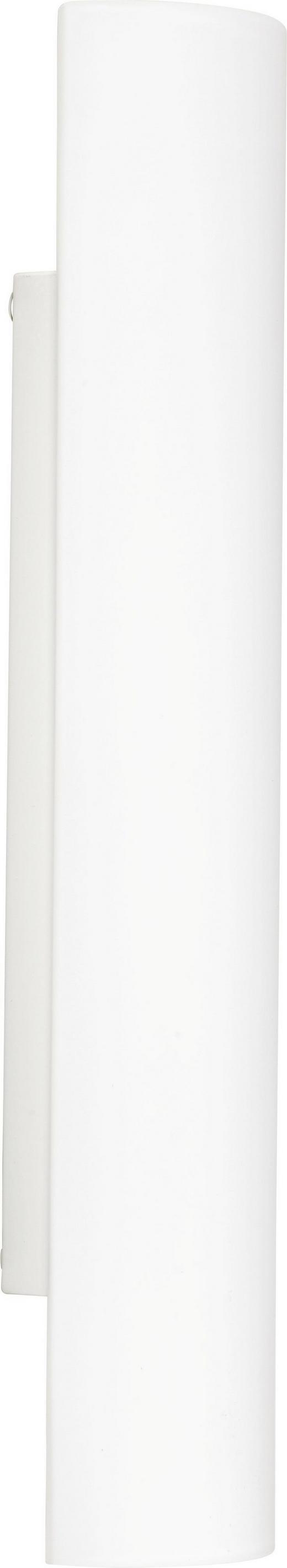 WANDLEUCHTE - Weiß, LIFESTYLE, Metall (40cm) - Bankamp