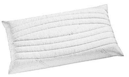 NACKENKISSEN Doppeltuch, Tencel® Kaltschaum - Weiß, Basics, Textil (68/10/36cm) - HÜLSTA